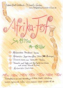 Afrikafest der Essbaren Stadt Waldkirch @ Mitmachgarten Waldkirch